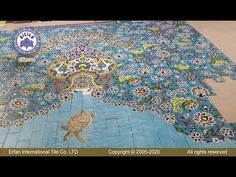 #SwimmingpoolsFloortile Swimming Pool Tiles, Sea Fish, Tile Floor, Objects, Flooring, Painting, Painting Art, Tile Flooring, Wood Flooring