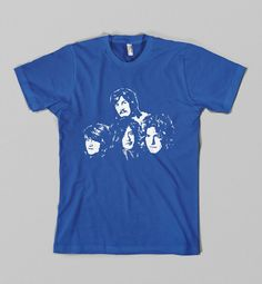 Led Zeppelin Shirt Jimmy Page Tshirt Robert Plant by BadShotDesign Led Zeppelin Shirt, John Paul Jones, Jimmy Page, Robert Plant, Custard, Pie, Mens Tops, T Shirt, Torte