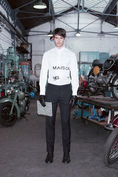 Givenchy Men's Pre-Fall 2013 Lookbook – The Dogs Are Back