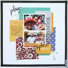 Celebrate Together  **Pebbles** - Scrapbook.com