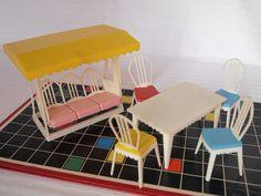 1960s 1970s JEAN furniture sets - patio  by diepuppenstubensammlerin, via Flickr