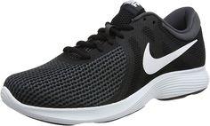 new style 32474 8a938 Nike Revolution 4, Herren Laufschuhe, Schwarz (Black White Anthracite 001)