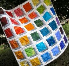 Shadow Box Quilt Free Tutorial designed by Jean MaDan of Madan Quilting 3d Quilts, Batik Quilts, Easy Quilts, Patchwork Patterns, Quilt Patterns Free, Quilting Projects, Quilting Designs, Quilting Ideas, Shadow Box