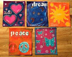 DIY :: New Year Wishes Prayer Flags by Unfolding Creatively