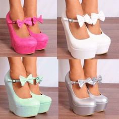 LADIES-WOMENS-ANKLE-STRAPS-BOWS-WEDGED-PLATFORMS-WEDGES-HIGH-HEELS-SHOES-UK-3-8