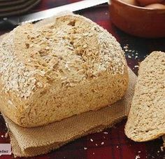Receta de pan de avena escocés Best Bread Recipe, Bread Recipes, Baking Recipes, Pan Bread, Bread Baking, Pan Dulce, Our Daily Bread, Bread And Pastries, Sin Gluten
