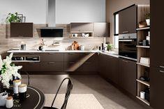 Culina + Balneo's exclusive and stunning German Kitchen range English Rose Kitchen, German Kitchen, First Kitchen, New Kitchen, Smart Kitchen, Studio Kitchen, Kitchen Design, Moka, Kitchen Trends 2018