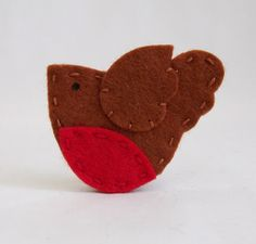 Items similar to Set of 4 Felt Christmas Robin Embellishments Applique on Etsy Christmas Bird, Christmas Ornament Crafts, All Things Christmas, Christmas Crafts, Ornaments, Clay Birds, Felt Birds, Felt Quiet Books, Crown Of Thorns
