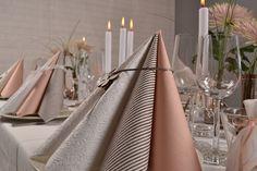 Konfirmation. Borddækning. Inspiration til indbydelser, bordkort, menukort, lys og servietter.