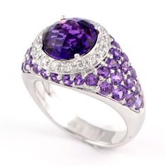 Amethyst Gemstone Fashion Ring   Minneapolis, MN - Wixon Jewelers