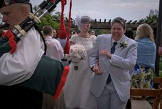 beautiful bride, handfasting and vows