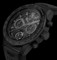 TAG Heuer Carrera Heuer-02T Tourbillon Watch Officially Announced At $15,950