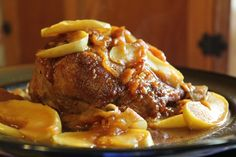 Sister See Sister Do: Tasty Tuesday - 45 minute Mega-Moist Pork Pot Roast with Apples & Onions (pressure cooker)