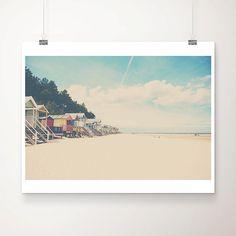 beach photograph beach hut photograph triangle by #oohprettyshiny #sunny16