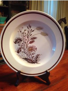 Autumn Mist Dinnerware set  Royal China Co Sebring, OH  serving for 6 -dinner plates salad plates bowls - wild flowers wheat - white brown by shhhitsvintage on Etsy https://www.etsy.com/listing/455584594/autumn-mist-dinnerware-set-royal-china