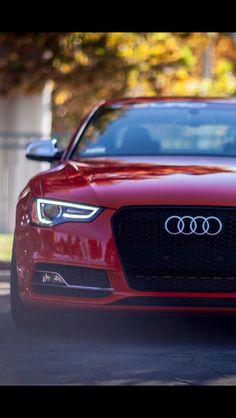 Take a hint from Christian Grey and surprise her with this gorgeous candy red Audi A3.