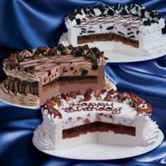 I want to make a Dairy Queen Cake.
