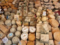 "Paris - ""Visit Fromagerie Quatrehomme on Rue de Sèvres. The family dairy shop has more than 200 cheeses on offer. The owner, Marie, was the first woman to be awarded the title Meilleur Ouvrier de France (Best Craftsman in France) in 2000."""