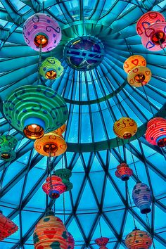 kaleidoscope of chinese lanterns magnificent photo of bright beautiful ethnic colours All The Colors, Vibrant Colors, Colours, Happy Colors, World Of Color, Color Of Life, Art Beauté, Decoration Chic, Mad Hatter Tea