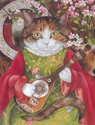 Image result for cats in famous paintings book