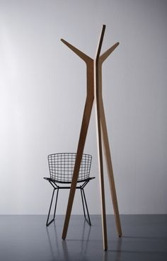 Hi Tripod Contemporary Coat Stand Rack: Remodelista