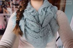 Pretty lacey infinity scarf I want this!!!