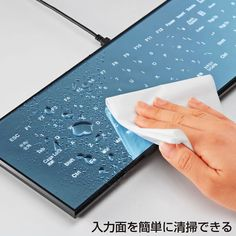 Japan: Touchscreen Cool Leaf Keyboard!