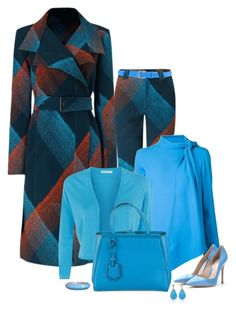 """""""set"""" by vesper1977 ❤ liked on Polyvore featuring Roland Mouret, Rosie Assoulin, Fenn Wright Manson, Fendi, Dsquared2 and Gianvito Rossi"""