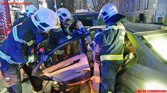 BF Wien: Verkehrsunfall