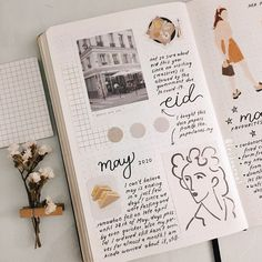 Bullet Journal Diy, Bullet Journal Weekly Layout, Bullet Journal Banner, Bullet Journal Spread, Bullet Journal Inspiration, Journal Diary, Photo Journal, Art Journal Pages, Bujo