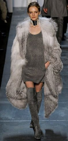 Hoping the fur is faux - Michael Kors