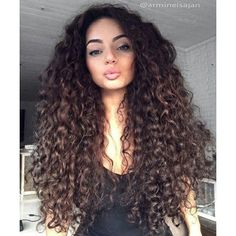 Long Curly Hairstyles Inspiration Like What You See Follow Me Pin Iijasminnii✨Give Me More Board