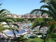 Appartementencomplex Albir Garden. Mooie tuinen, heerlijke zwembaden en goede appartementen.