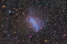 Imagens do Universo: NGC 6822: Galáxia de Barnard