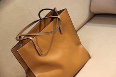 Large Leather Tote Bag-Shopper-Ipad-MacBookBag- Shoulder Bag Leather Satchel /Briefcase Bag   handbag/purse/handbags Bags in Retro Brown. $89.90, via Etsy.