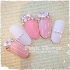春/オフィス/ブライダル/パーティー/デート - Pink Clover ネイルサロン&スクールのネイルデザイン[No.1131876]|ネイルブック
