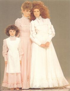 What do we love more, the 80s hair or bridal dresses? So iconic!! #lauraashley60