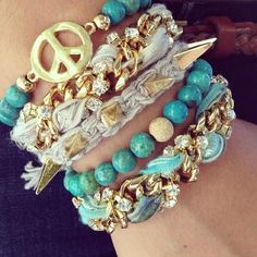 19 Bracelets For You To Enjoy And Get Inspired For The Weekend…..ok this is my FAVORITE thing ever!!!!!!