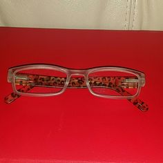 Chico's Leopard +2.00 Reading Glasses Lightly used Leopard design  Reading Glasses Chico's Accessories Glasses