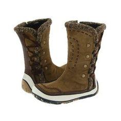 Merrell Puffin High Women's Zip Boots - Tan