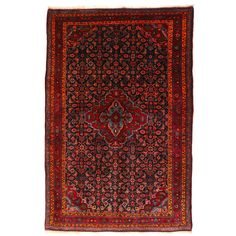 Persian Mid-Century Bidjar Rug | From a unique collection of antique and modern persian rugs at https://www.1stdibs.com/furniture/rugs-carpets/persian-rugs/