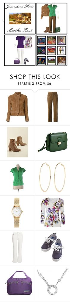 """""""Inspired by Jonathan & Martha Kent (1278)"""" by trufflelover ❤ liked on Polyvore featuring 10 Crosby Derek Lam, CÉLINE, Coconuts by Matisse, Dressage Collection, Banana Republic, River Island, CLUSE, Yves Saint Laurent, Etcetera and Keds"""
