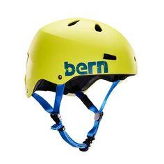 25a874e8bfc Bern Macon - Matte Neon Yellow Bike Helmets