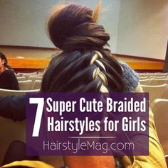 7 Super Cute Braided Hairstyles for Girls   HairstyleMag