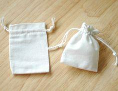 natural fiber drawstring bags -- packaging | Packaging | Pinterest ...