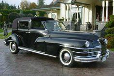 The 1946 Derham bodied Chrysler Town Car originally owned by John.D.Rockefeller jnr.