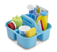 Let's Play House! Spray, Squirt & Squeegee Play Set   Toys for 3-4 year olds   Melissa and Doug