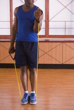 Resistance Band Exercises for Men |