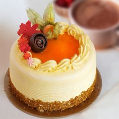 "Mango 8"" Cake / 8-10 Servings"