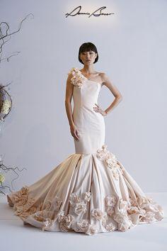 Dennis Basso wedding gown.